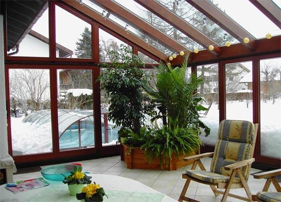 Schöne Wintergärten zimmerei haslberger wintergärten